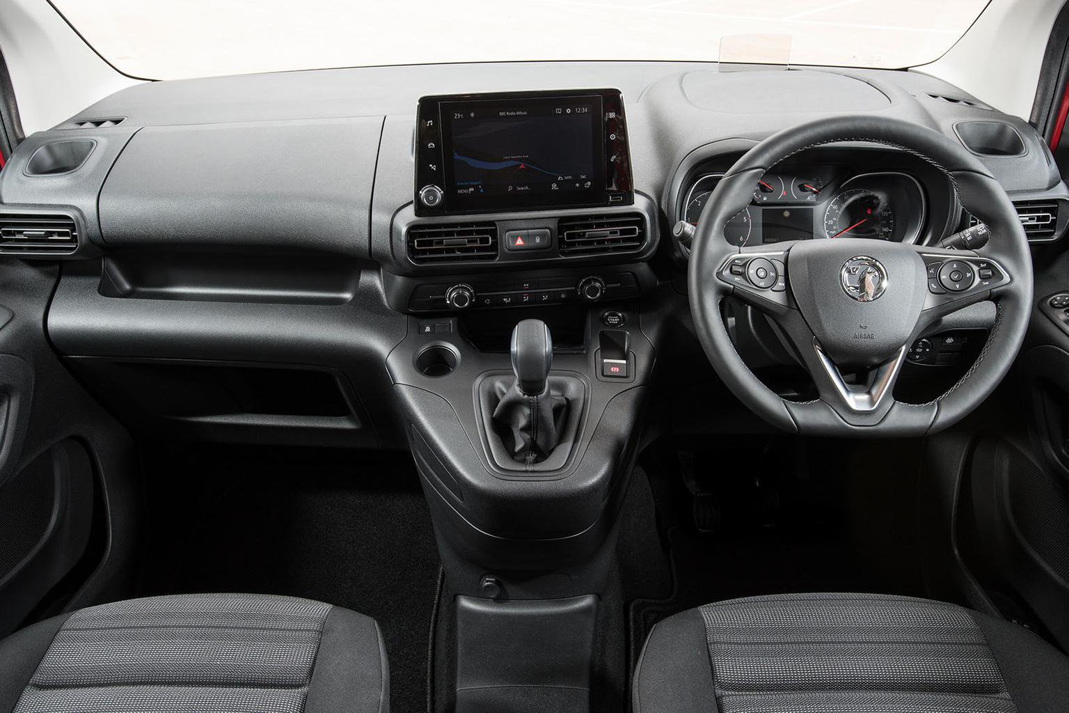 Vauxhall Combo Life Interior Sat Nav Dashboard What Car