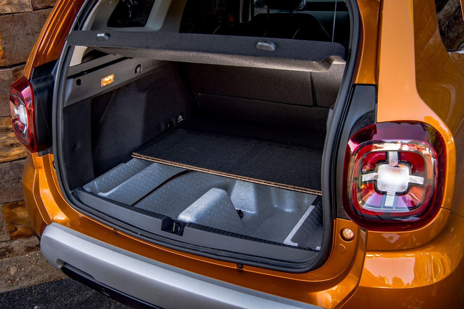 Dacia Duster 2020 boot