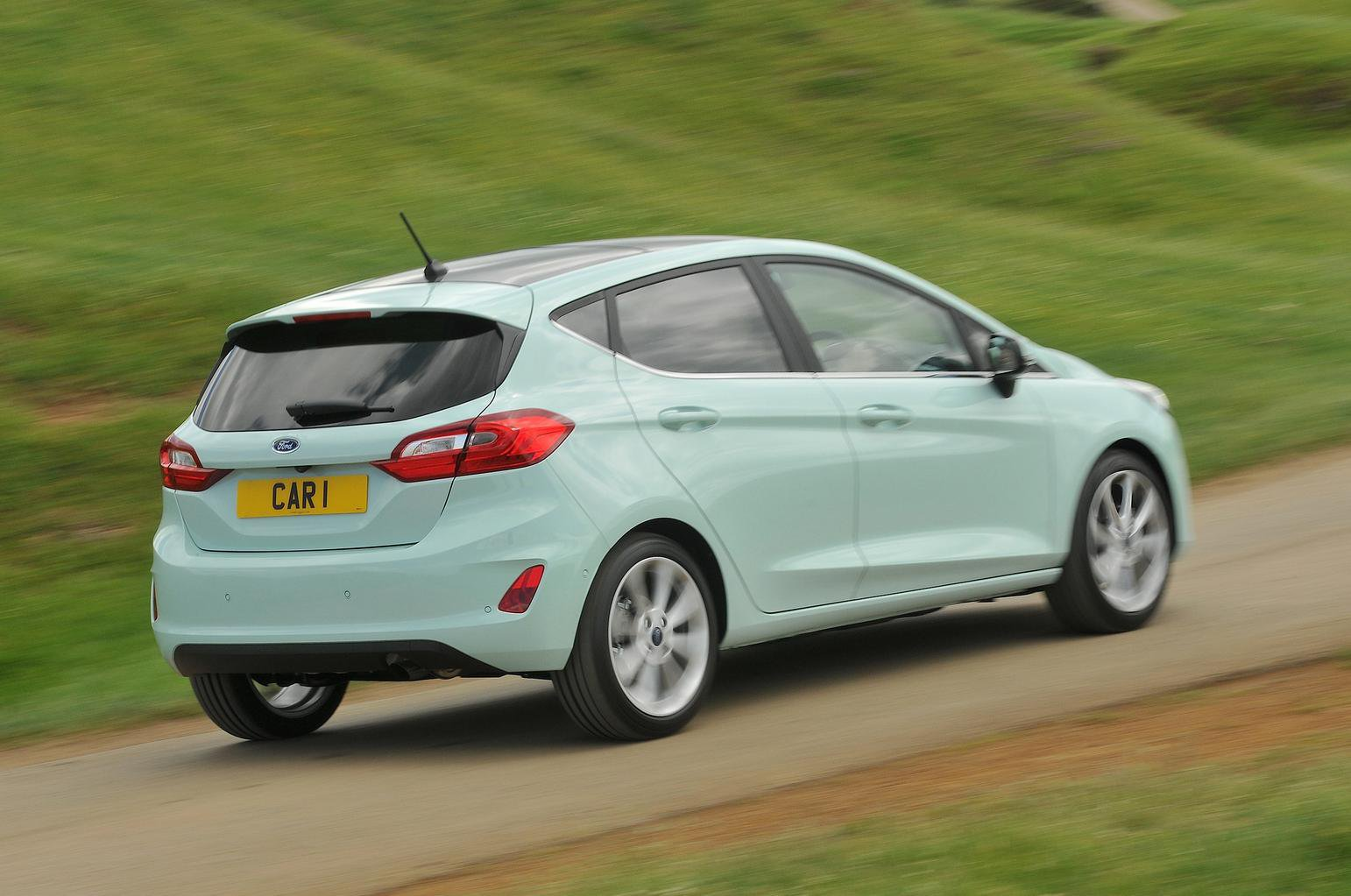 2019 Ford Fiesta rear