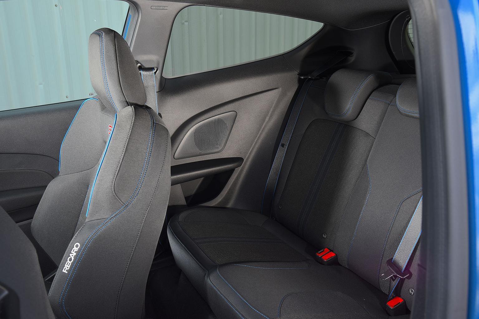 2019 Ford Fiesta ST rear seats