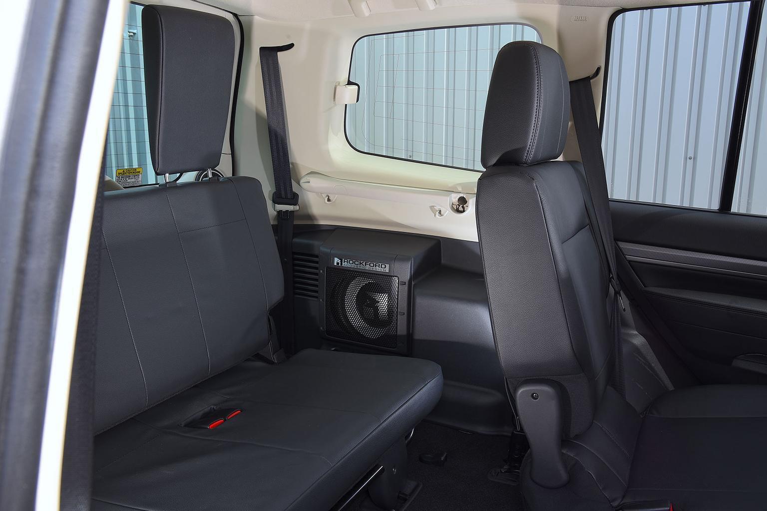 Passenger & boot space