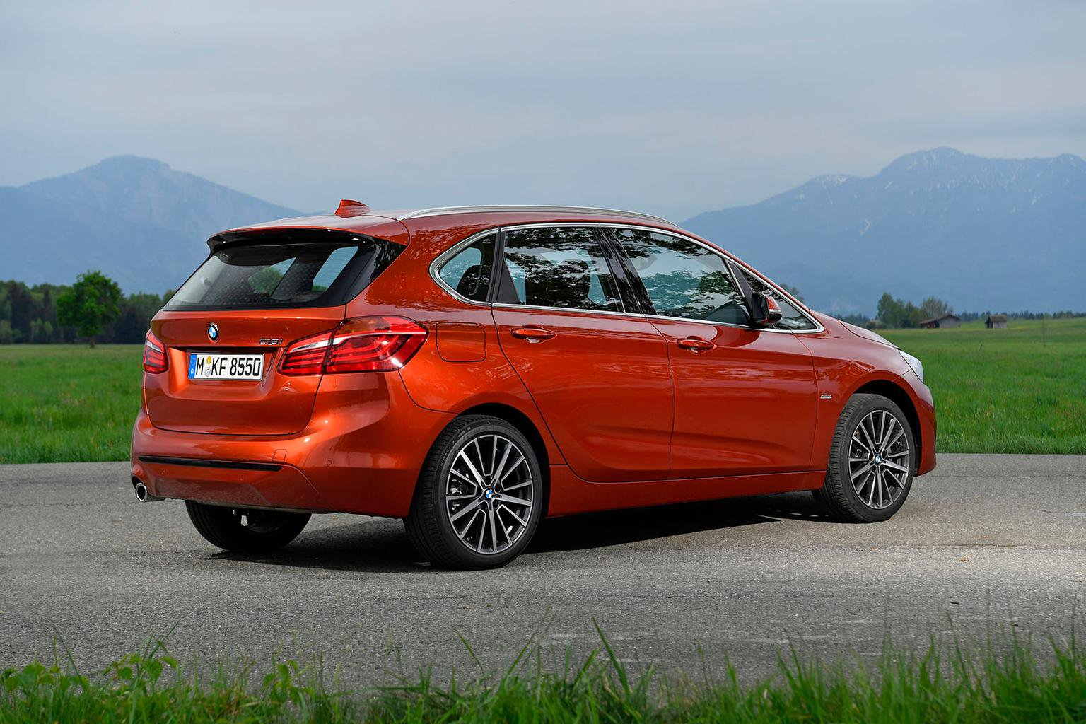 Bmw 2 Series Active Tourer Boot Space Size Seats What Car