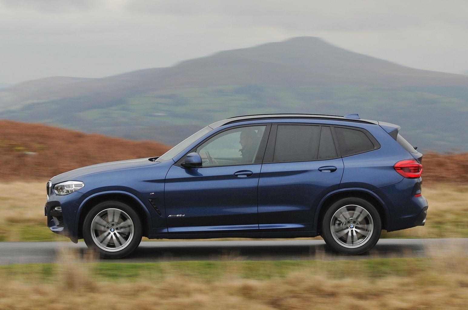 BMW X3 2021 left panning