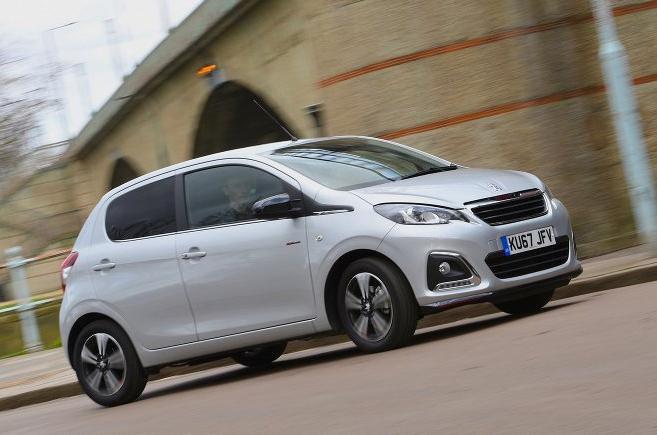 Used Peugeot 108 14-present