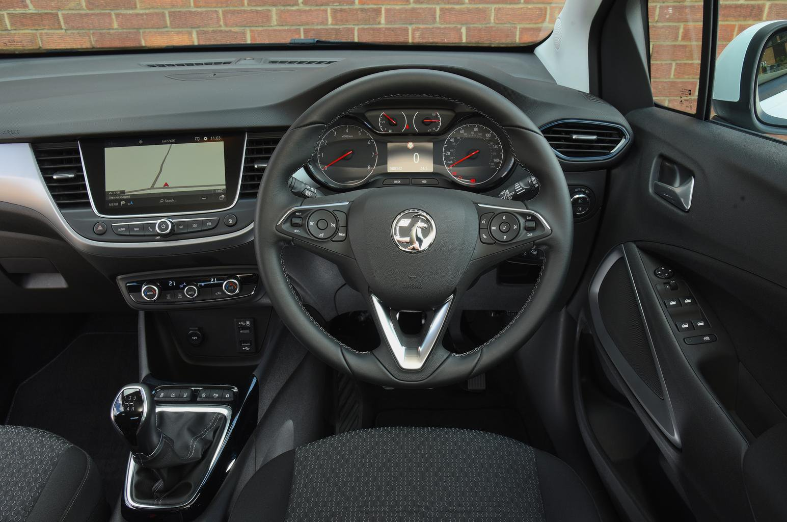 Vauxhall Crossland X Interior Sat Nav Dashboard What Car