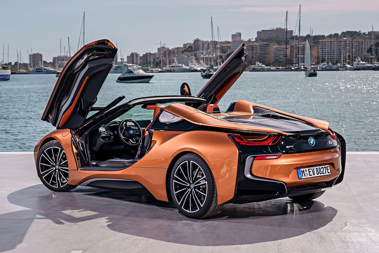 Bmw I8 Roadster Boot Space Size Seats What Car
