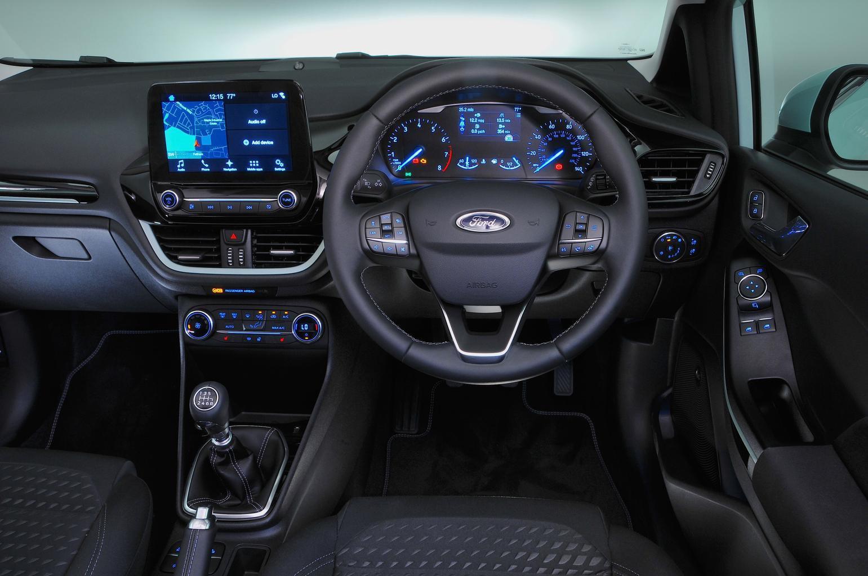 2019 Ford Fiesta dashboard