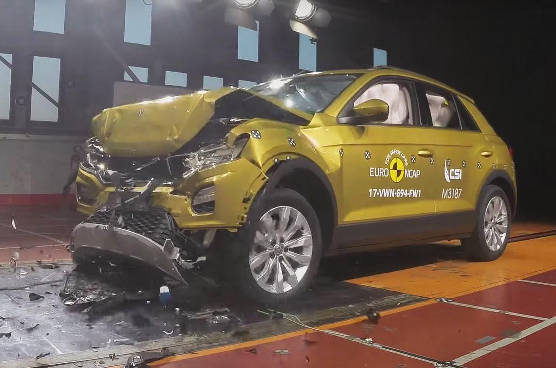 Volkswagen T-Roc crash test