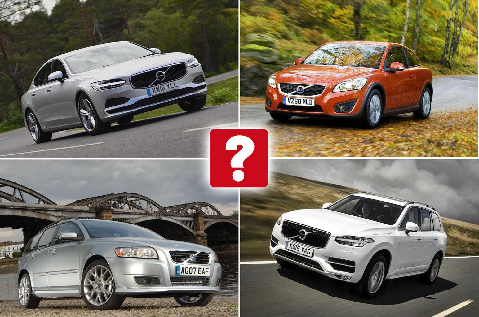 Best used Volvos collage