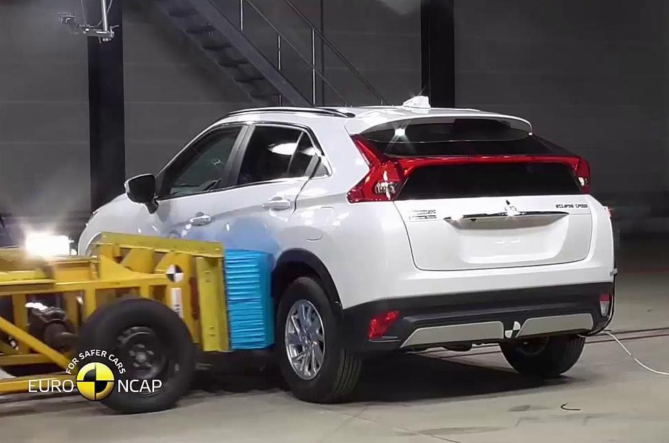 Mitsubishi Eclipse Cross crash test