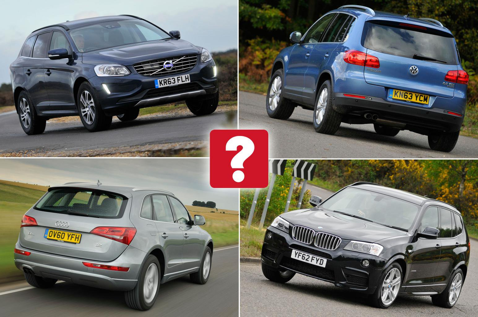Best used large SUVs