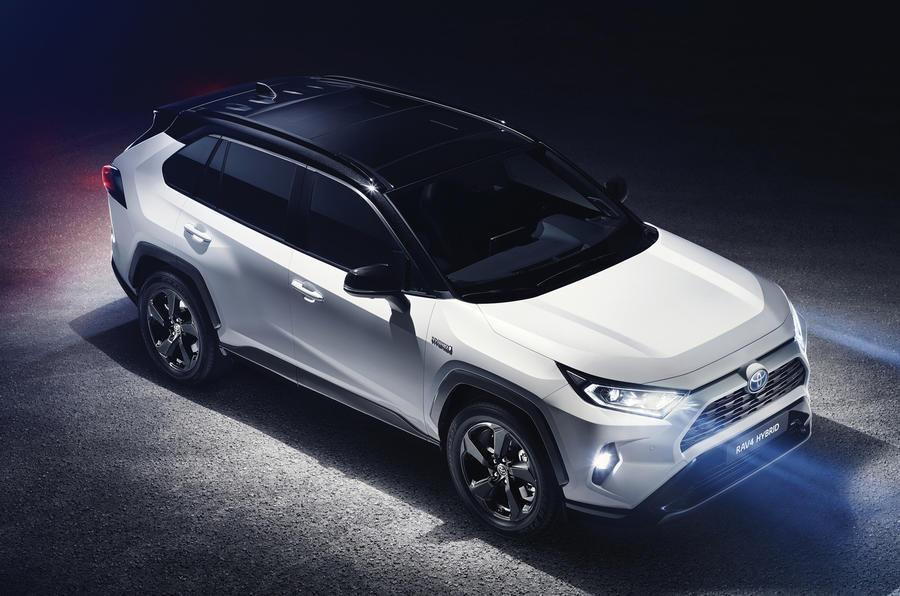 Large and luxury SUVs: Toyota RAV4