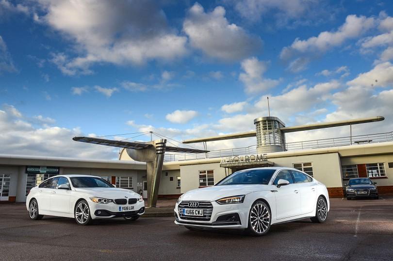 Audi A5 Sportback and BMW 4 Series Gran Coupé