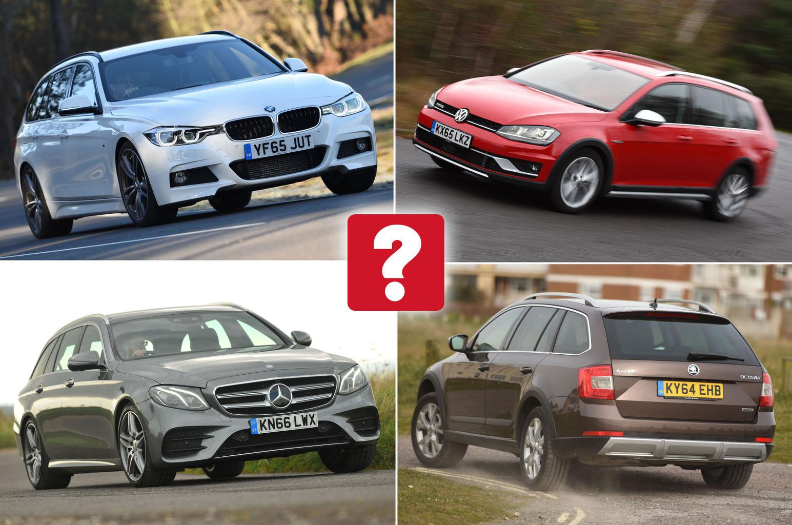 Best used 4x4 estate cars