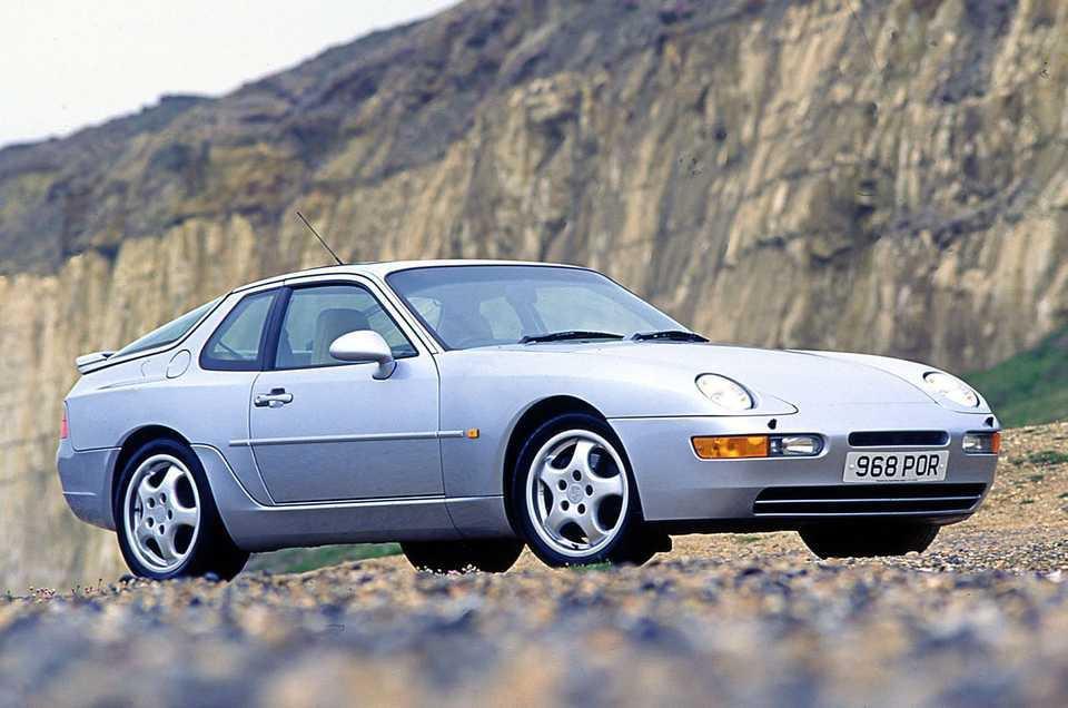 Porsche 968 front