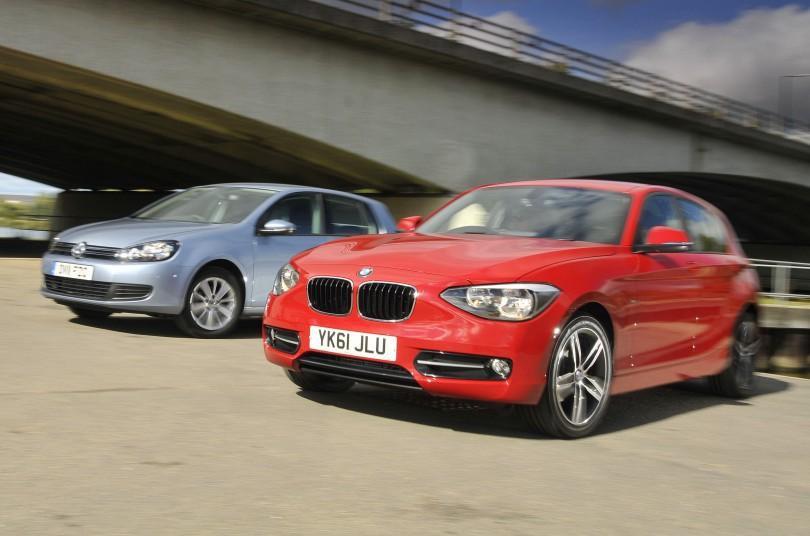 Used BMW 1 Series vs Volkswagen Golf