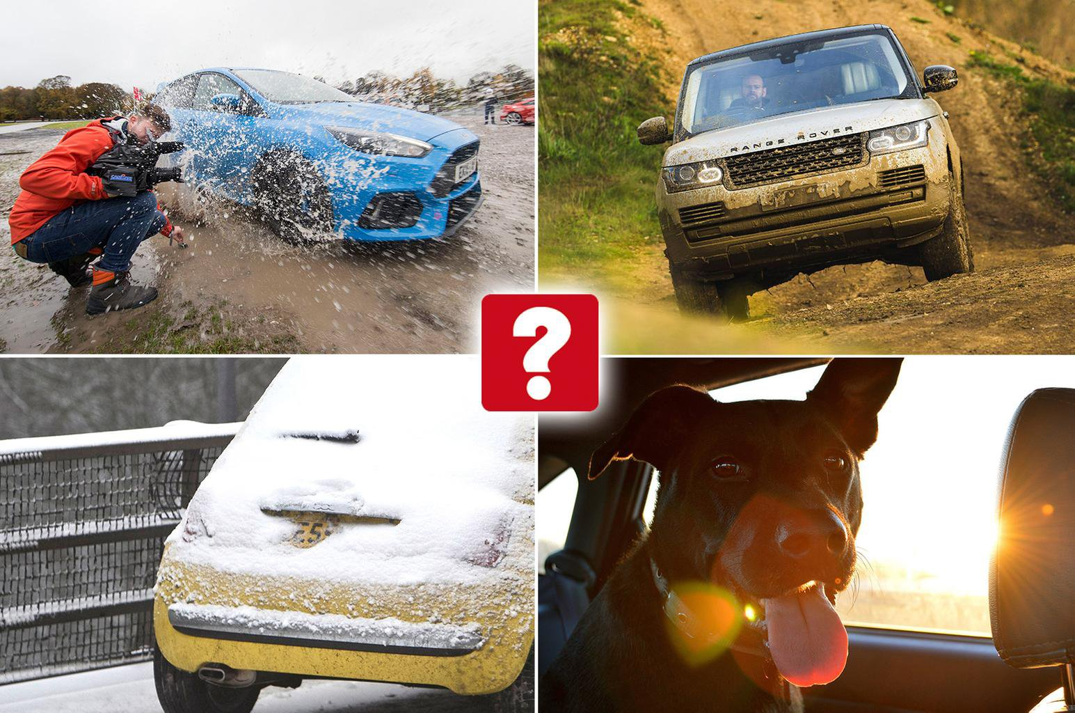 Images of obscure motoring offences