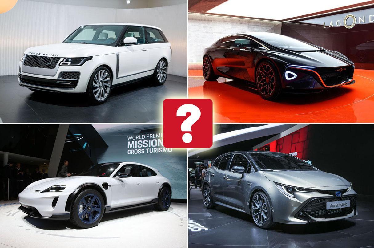 Star cars of the Geneva motor show