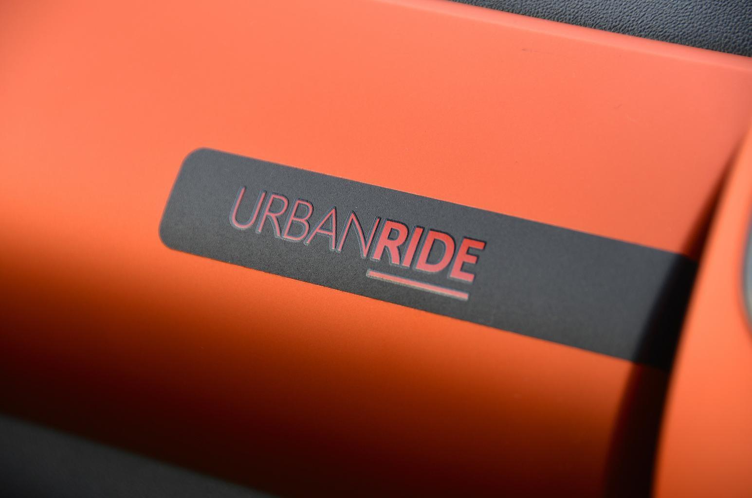 Citroën C1 Urban Ride interior badge