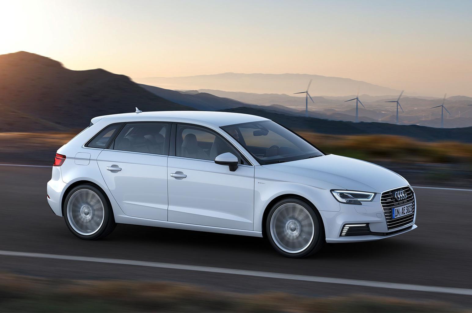 Audi A3 E-tron front