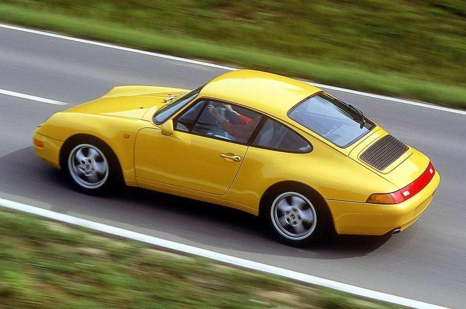 Porsche 993 rear