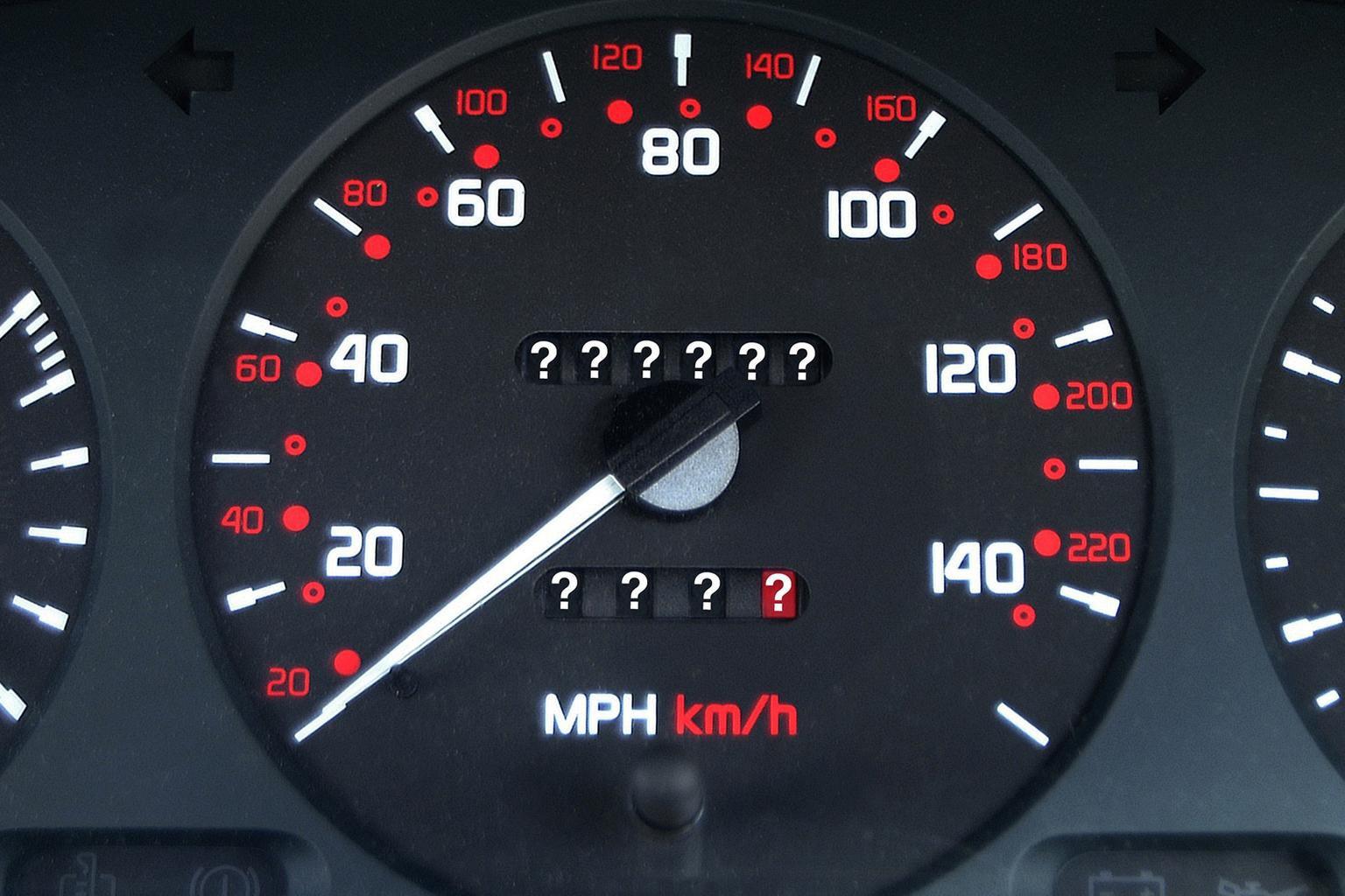 6. Keep checking the odometer