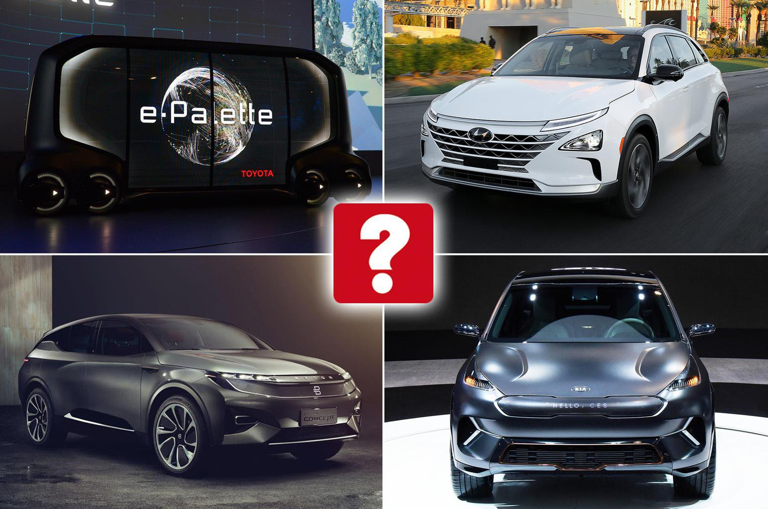 Star cars of the Consumer Electronics show