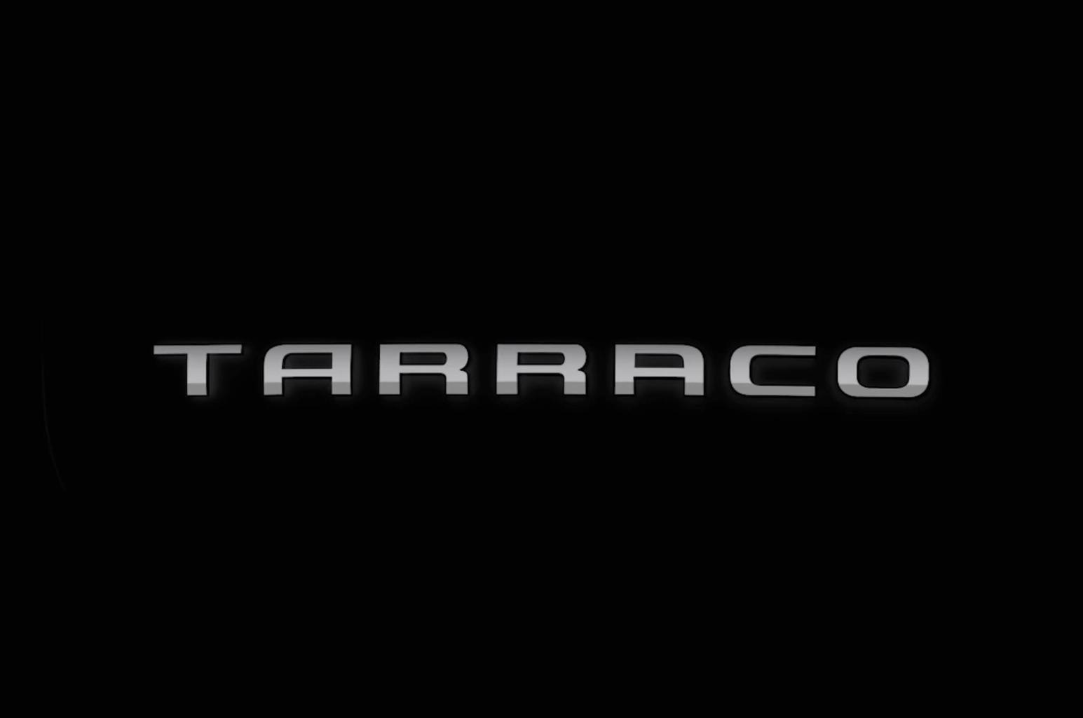 Seat Tarraco badge