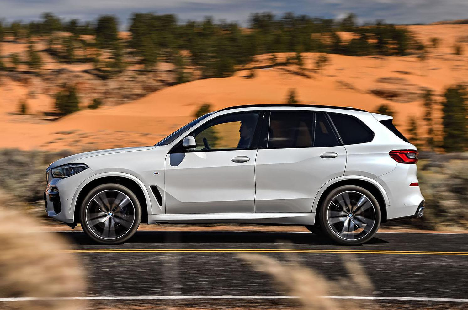 2018 BMW X5 side