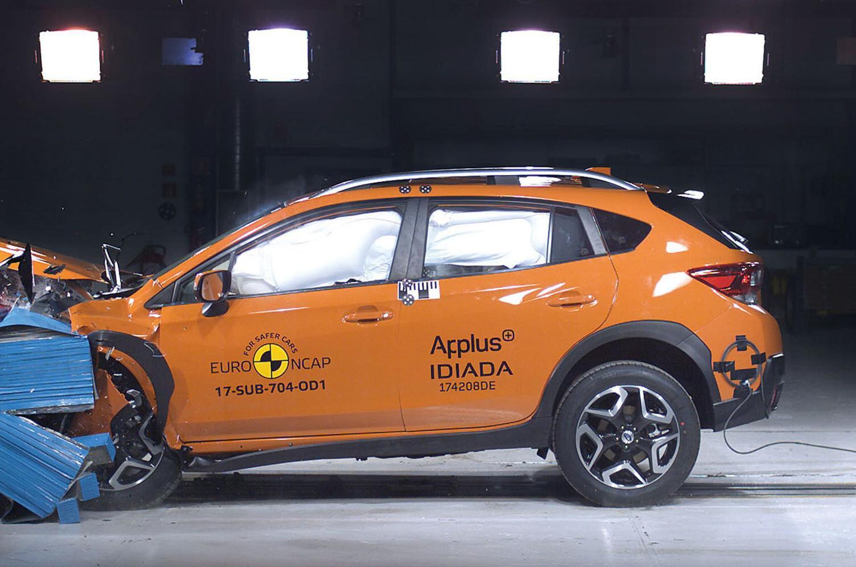Subaru XV crash test