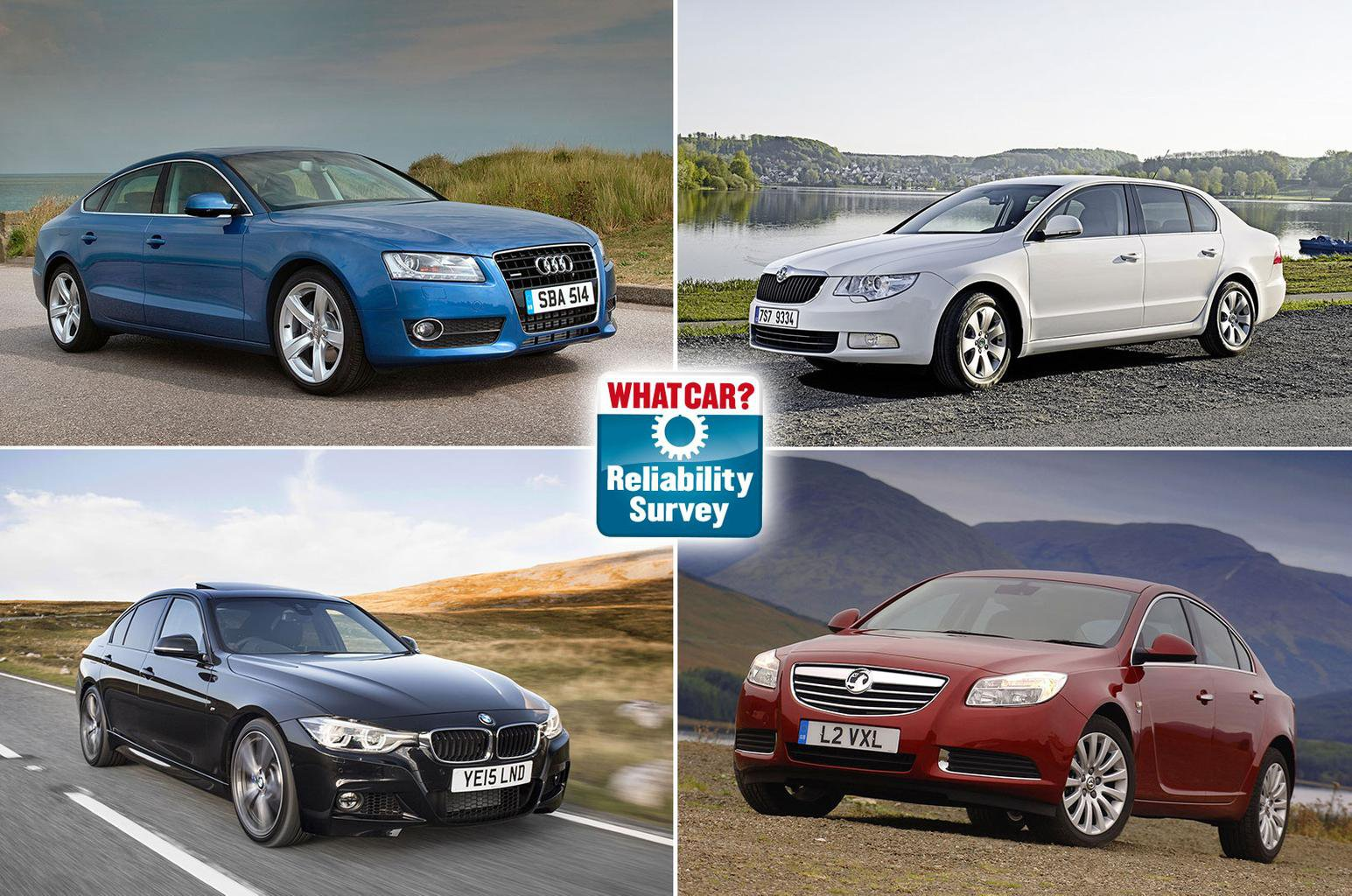 Most reliable older executive cars