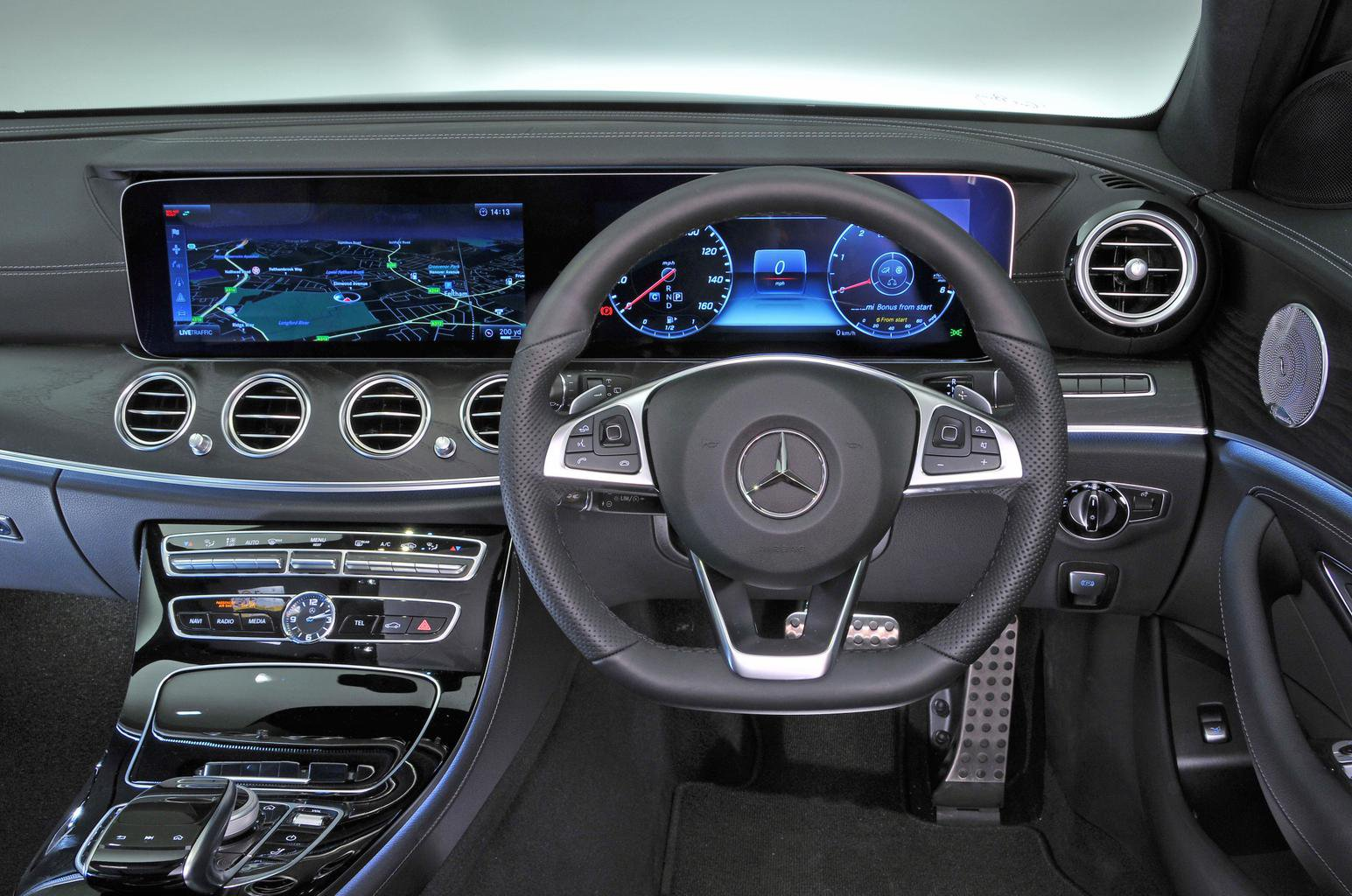 Mercedes E-Class Estate interior