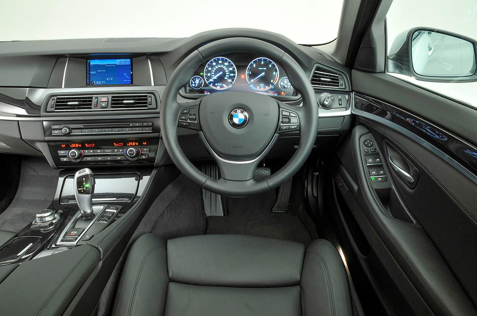 BMW 5 Series interior