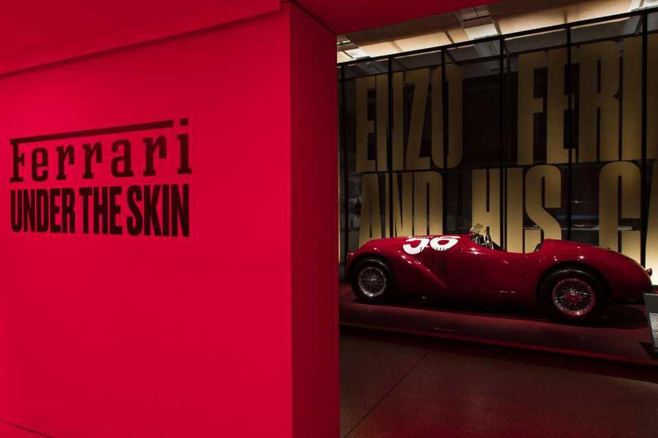 Ferrari: Under the Skin tickets at the Design Museum