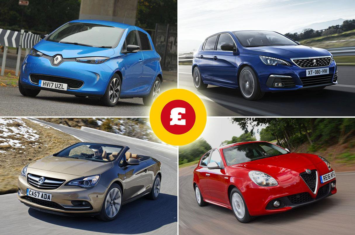The 10 Fastest Depreciating Cars 2019