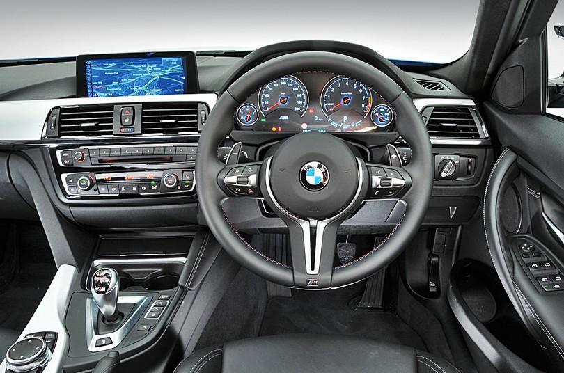 BMW M3 dashboard