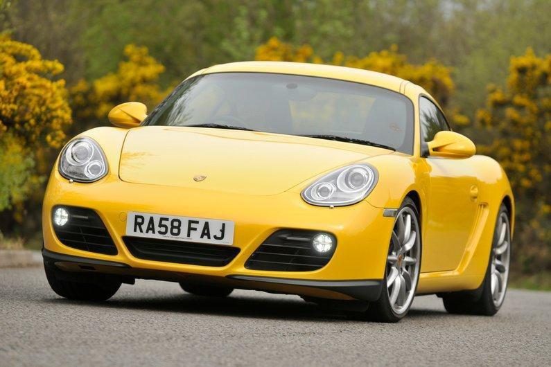 Porsche Cayman front