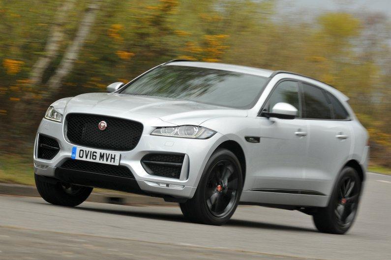 Jaguar F-Pace front