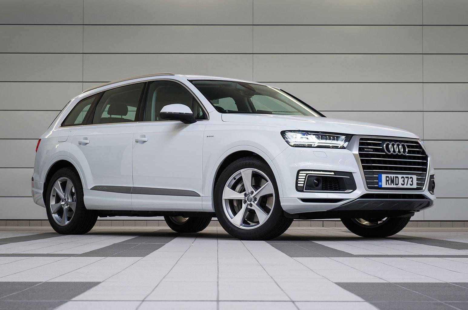 Audi Q7 E Tron Front