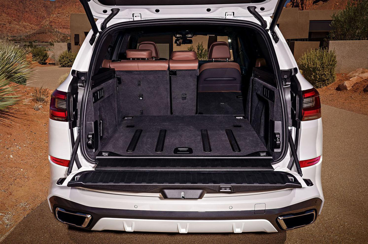 2018 BMW X5 boot
