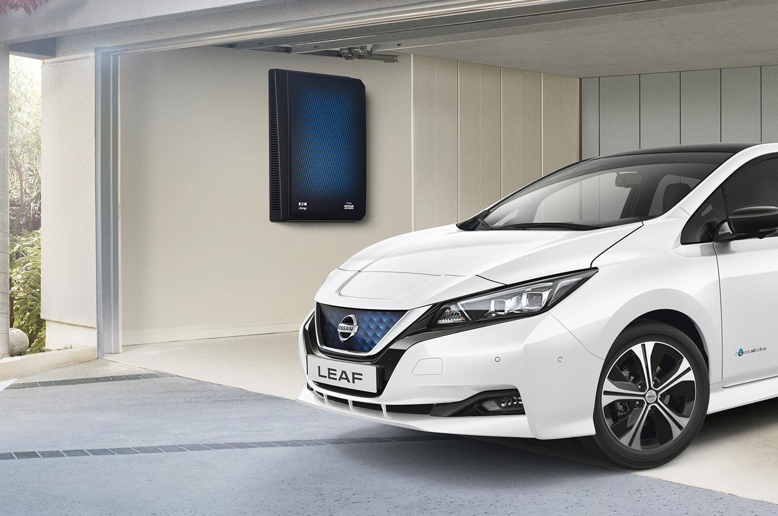 Nissan xStorage system