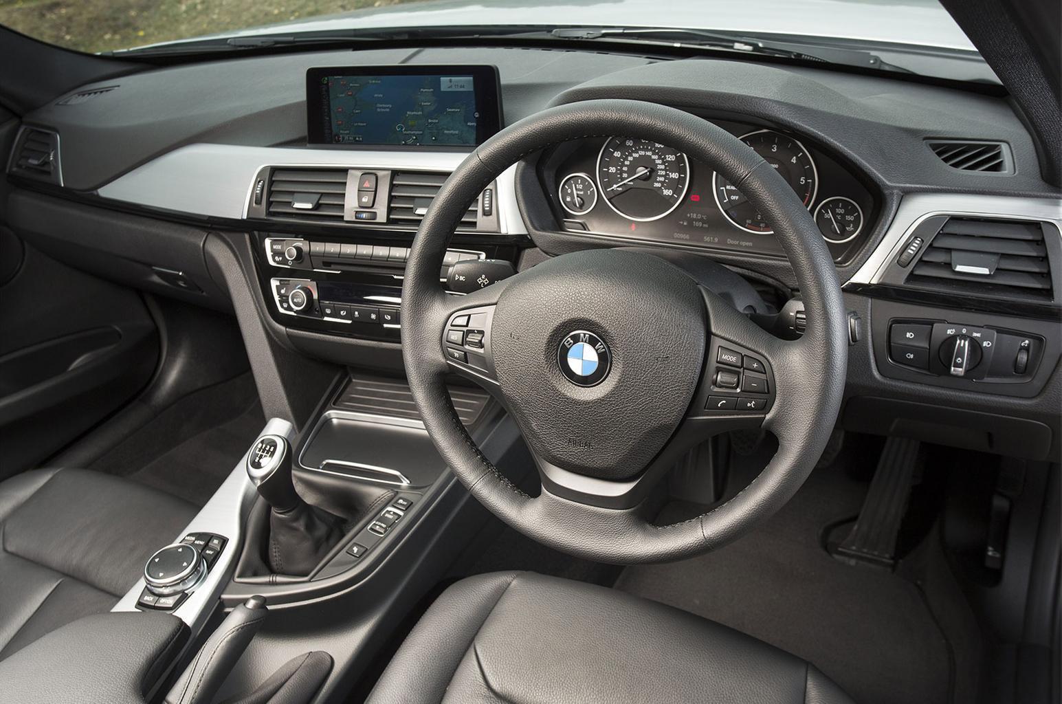 BMW 3 Series diesel interior