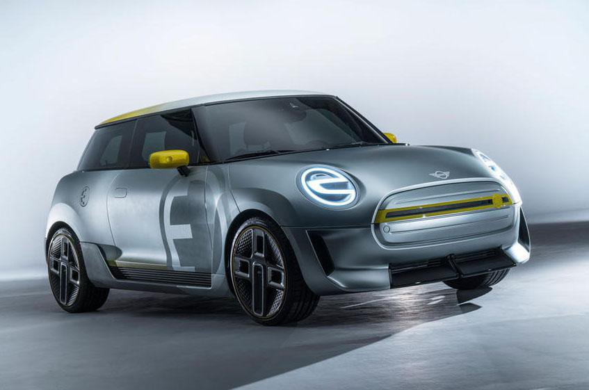 2019 Mini Electric What We Know So Far Concept Front