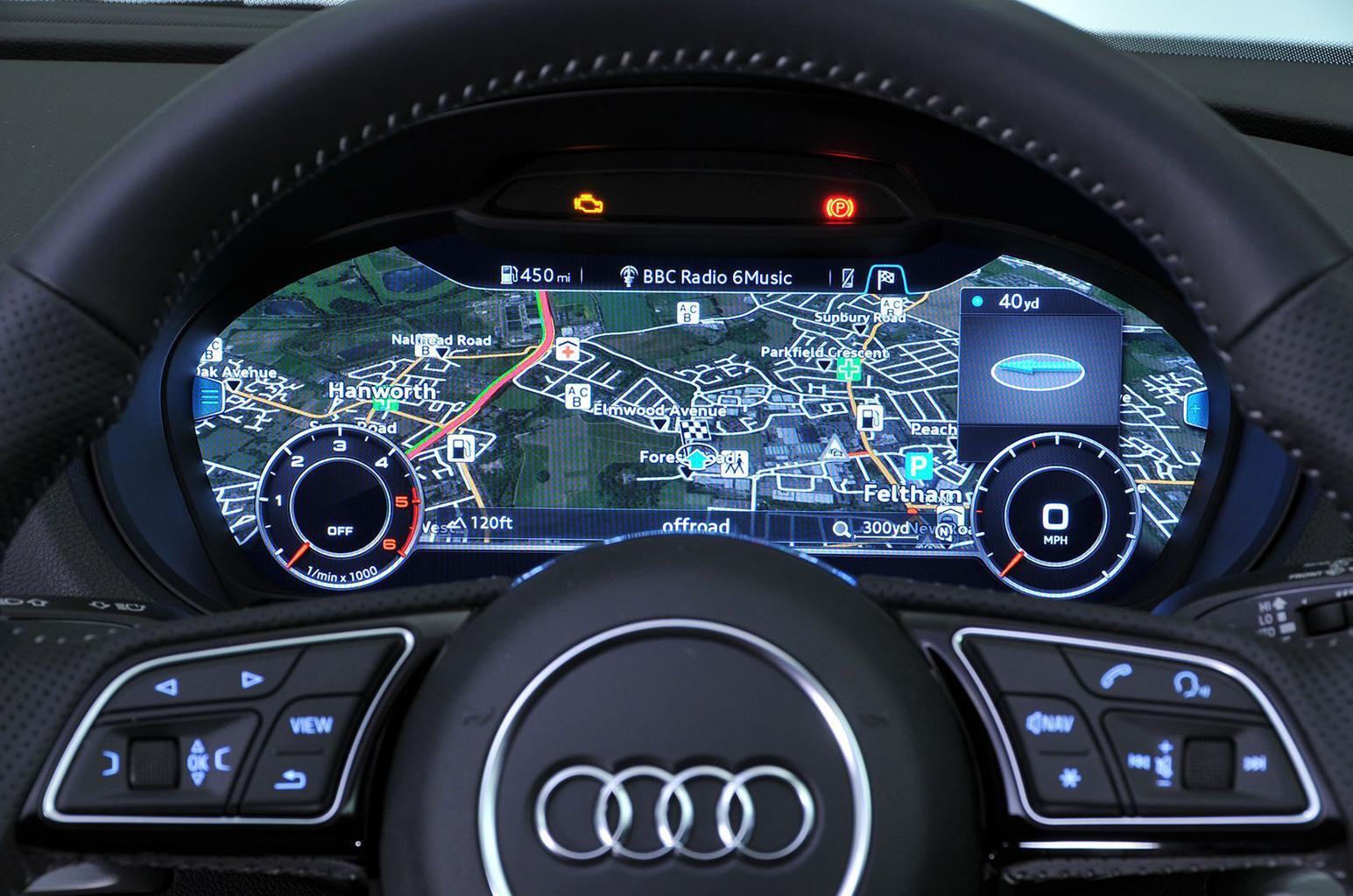 Audi Virtual Cockpit (£450)