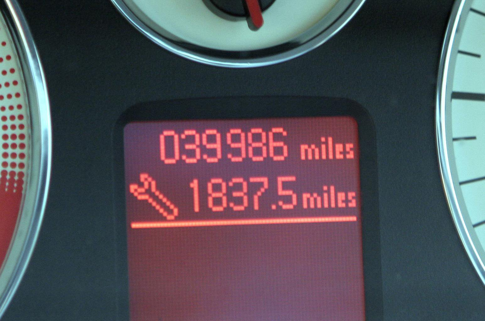 Check the mileage