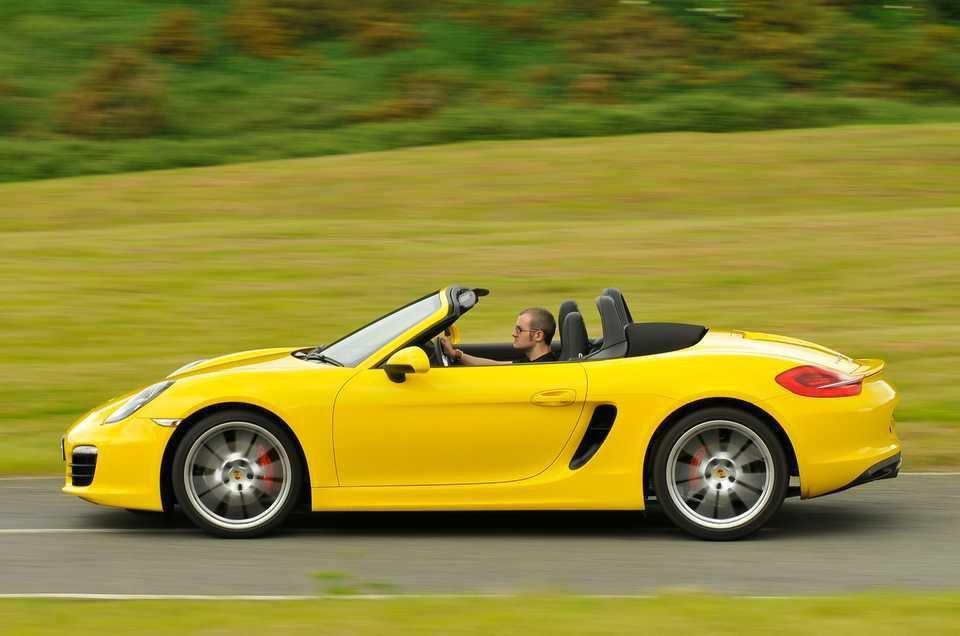Porsche Boxster side