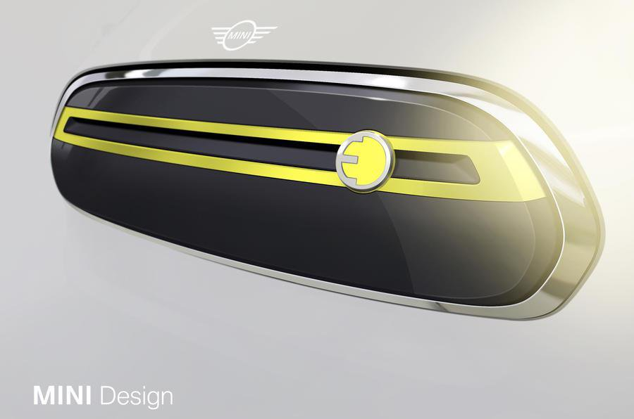 Mini Electric front grille design
