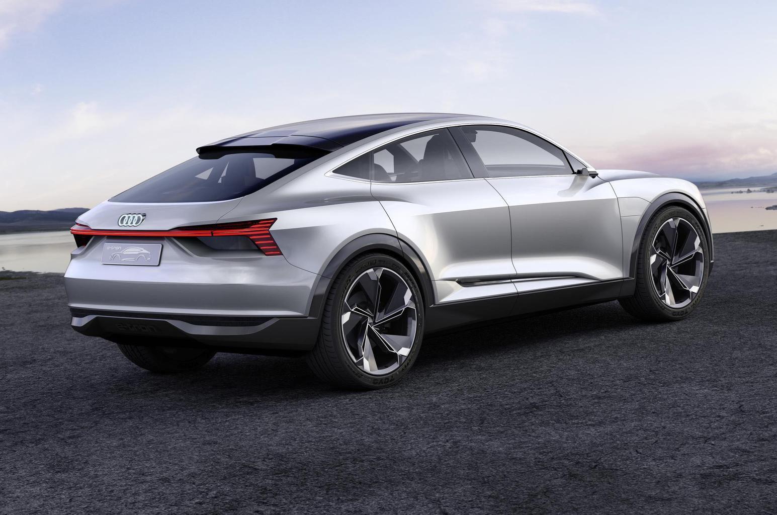 Audi E-tron Sportback rear