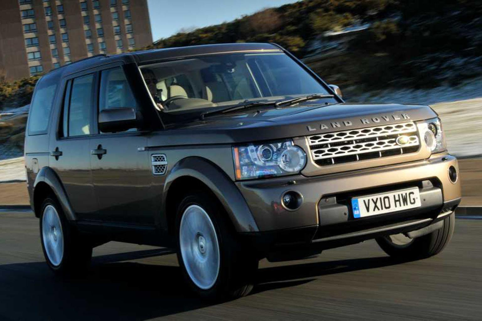 Land Rover Discovery front