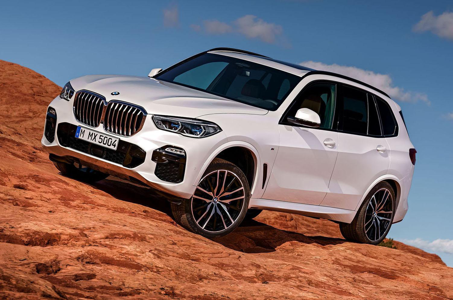 2018 BMW X5 off-roading